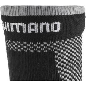 Shimano Breath Hyper Winter Socken Grau